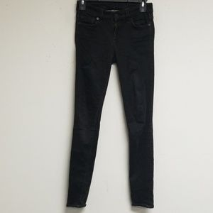 7 For All Mankind Black Jean's Size 25